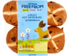 Deliciously Free Hot Cross Buns by Sainsbury's Recall [UK]