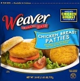 Weaver Frozen Chicken Patty Recall [US]