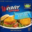 Weaver Frozen Chicken Patty Recall [US]