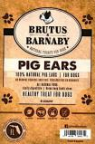 Brutus & Barnaby Pig Ear Treat Recall [US]