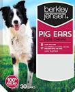 Berkley & Jensen branded Pig Ear Dog Treats Recall [US]