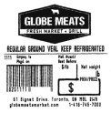 Globe Meats Regular Ground Veal Recall [Canada]
