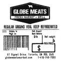 Globe Meats Regular Ground Veal Recall [Canada]