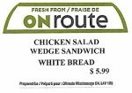 A Bis Gourmet, ONroute and Timothy's Sandwich Recall [Canada]