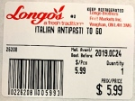 Longo's Dry Sausage & Grab N Go Tray Recall [Canada]