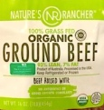 Nature's Rancher 100% Grass Fed Organic Beef Recall [US]