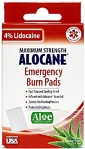 Alocane Emergency Burn Pad Recall [US]