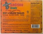 Padrino Foods Beef & Sirloin Tamale Recall [US]