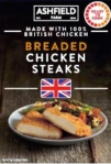 ALDI Ashfield Farm Chicken Steak Recall [UK]