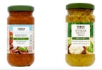 Tesco Pesto Red, Green & Spinach Pesto Recall [UK]