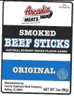 Arcadia Meats branded Beef Stick Recall [US]