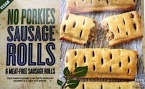 No Porkies Meat-Free Sausage Roll Recall [UK]