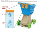 Little Helper's Shopping Cart Recall [US & Canada]