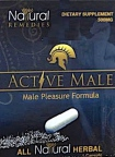 Active Male Dietary Supplement Recall [US]