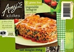 Amy's Kitchen Frozen Vegetable Lasagne Recall [UK]