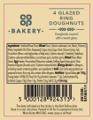 Co-op In-store Bakery 4 Glazed Ring Doughnut Recall [UK]