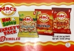 Evans Food Mac's Chicharrones Pork Skin Recall [US]