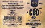 13035 - FDA - Kore Organic Watermelon CBD Oil Tincture Recall [US]