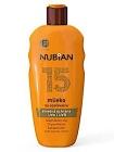 Nubian 15 Mlieko Na Opaľovanie Sunscreen Lotion
