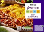 Tesco Free From Beef Lasagne Recall [UK]