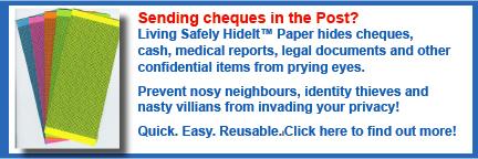Living Safety HideIt™ Paper