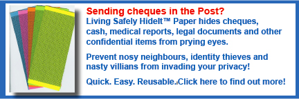 Living Safety HideIt™ Paper