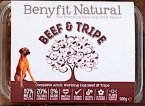 Benyfit Natural Raw Pet Food Recall [UK]