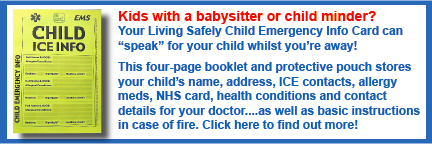 Living Safety™ Child ICE Info Booklet