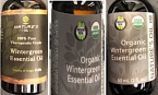 Nature's Oil Wintergreen and Birch Essential Oil Recall ]US]