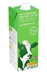 by Sainsbury's Semi-Skimmed UHT Milk Recall [UK]