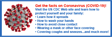US Centers for Disease Control and Prevention Coronavirus Tips