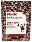 Frank branded Milk Chocolate Covered Raisins