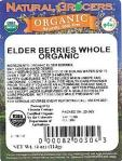 Natural Grocers Organic Whole Elderberry Recall [US]