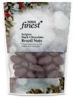 Tesco branded Finest Festive Belgian Dark Chocolate Brazil Nuts