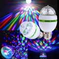 Ranpo E27 3W RGB LED Crystal Ball Disco Lamp Recall [EU]
