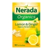 Nerada Organics Lemon & Ginger Organic Herbal Tea Infusion