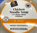 Vons Signature Café Chicken Noodle Soup Recall [US]