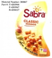 Sabra Dipping Co. Classic Hummus Recall [US]