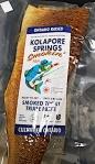 Kolapore Springs Smoked Trout Fish Recall [Canada]