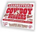 Leadbetters Cowboy Burgers
