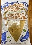 Trader Joe's Restaurant Style White Corn Tortilla Chip Recall [US]