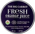 The Big Carrot Fresh Juice Recall [Canada]