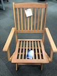 TJX Outdoor Wooden Folding Chair Recall [US]