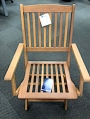 TJX Outdoor Wooden Folding Chair Recall [US]