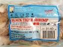 Searay Thailand Black Tiger Shrimp Recall [Canada]