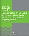 Tesco Flu-Max Chesty Cough & Cold Powder Recall [UK]